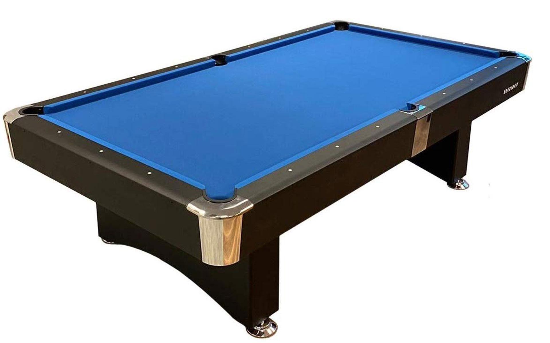 Das blaue Tuch des Buckshot-Billardtisches ist ein Hingucker. (Foto: Amazon)